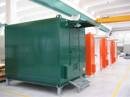 Fabrikada Üretim Depolama Alanı